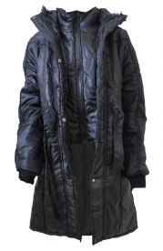 Ladies Plus Size Thick Coat with Hood & Insert Jacket